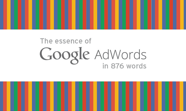 Image: The Essence of AdWords in 876 Words