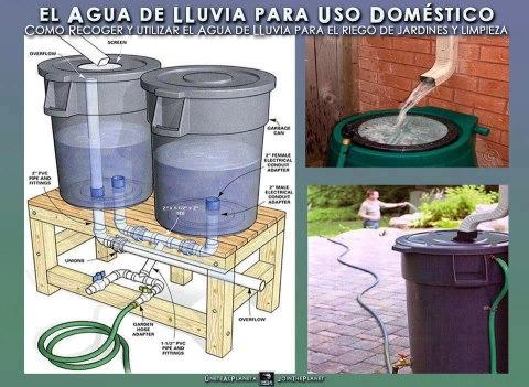 El detalle que hace la diferencia recolector de a for Ideas para ahorrar agua