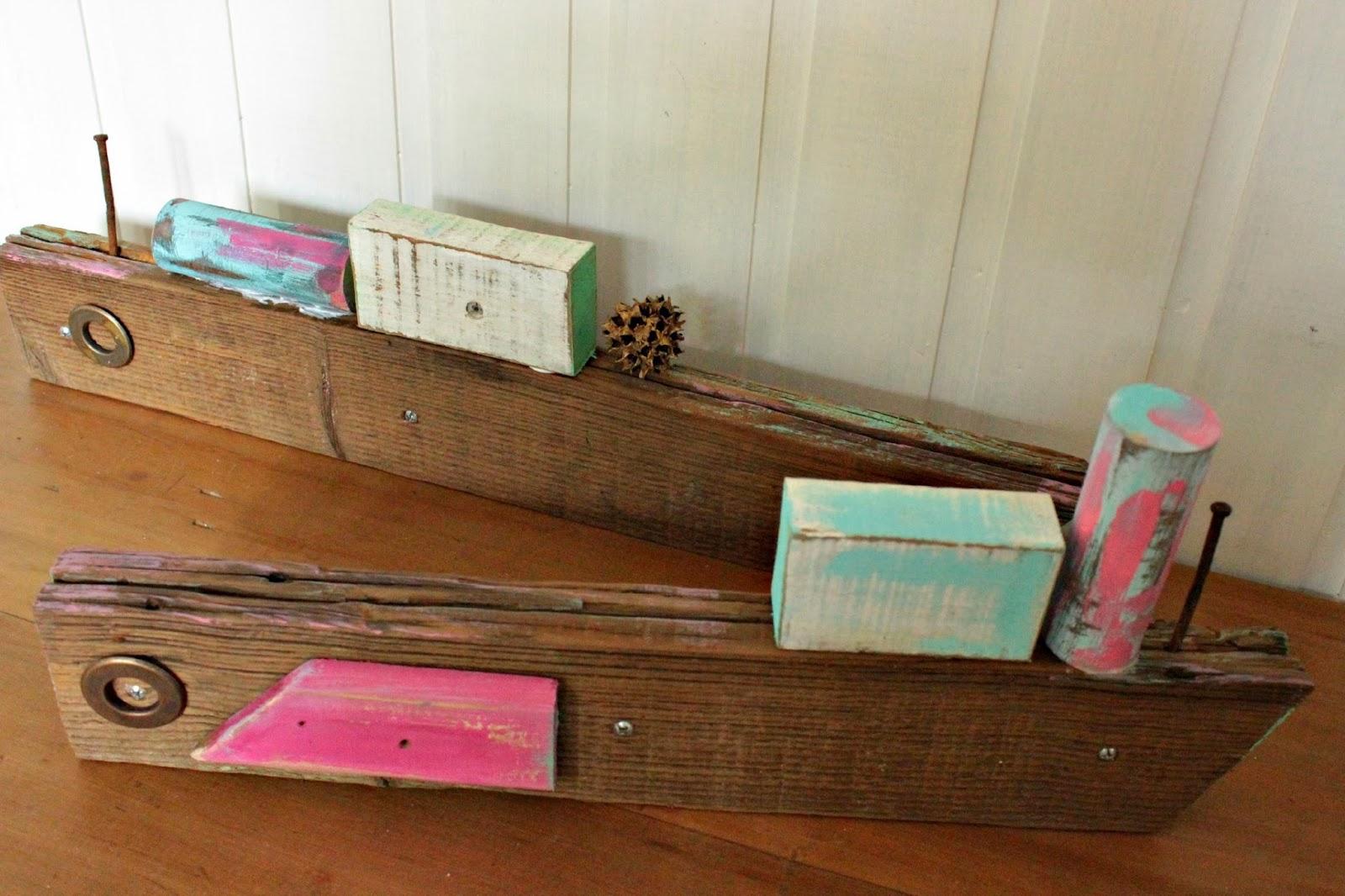 Tienda la florinda barcos de madera reciclada for Bar con madera reciclada