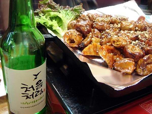 Làm món ăn ngon với Gopchang (Hàn Quốc)