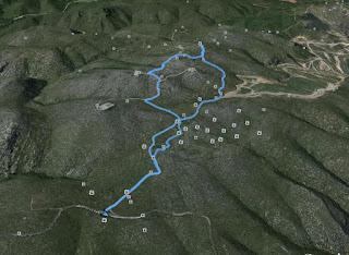Recorregut: Pla d'en Querol-La Morella