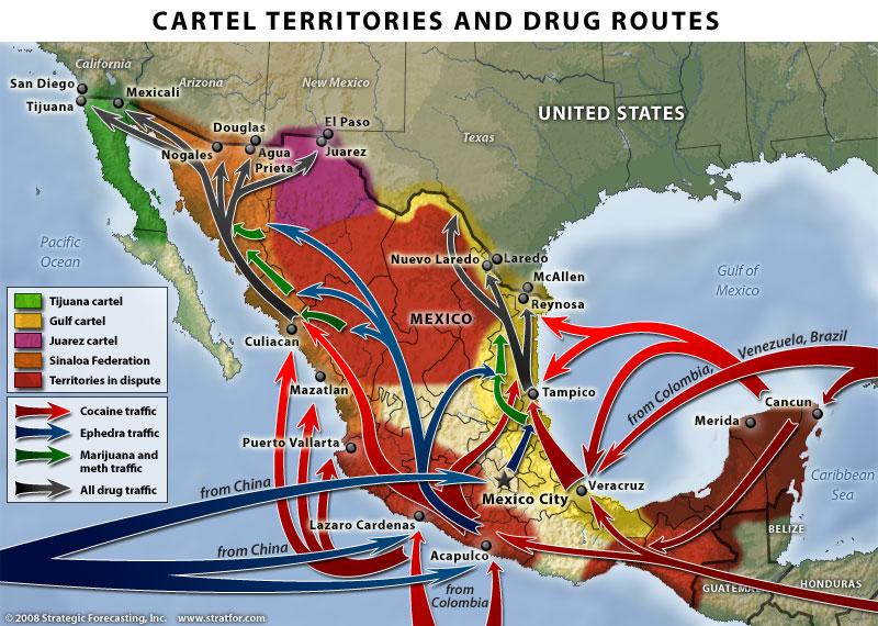 CRIMETALKAMERICA: MEXICO-AMERICA's BORDER INTRUSIONS