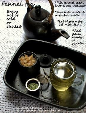Fennel tea   how to make fennel tea   a digestive and detox tea for all seasons