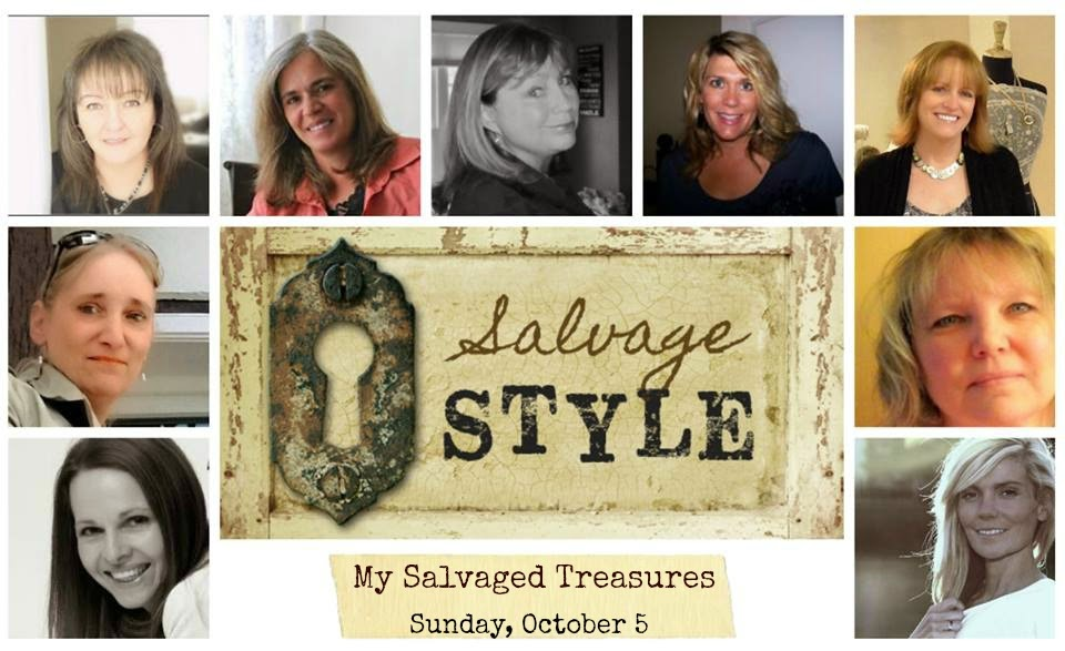 Salvage style link party begins oct. 5