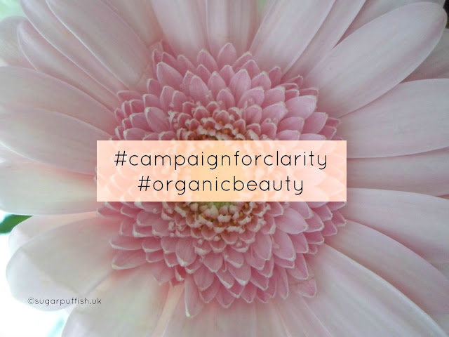 Soil Association Organic September Organic Beauty Week #campaignforclarity