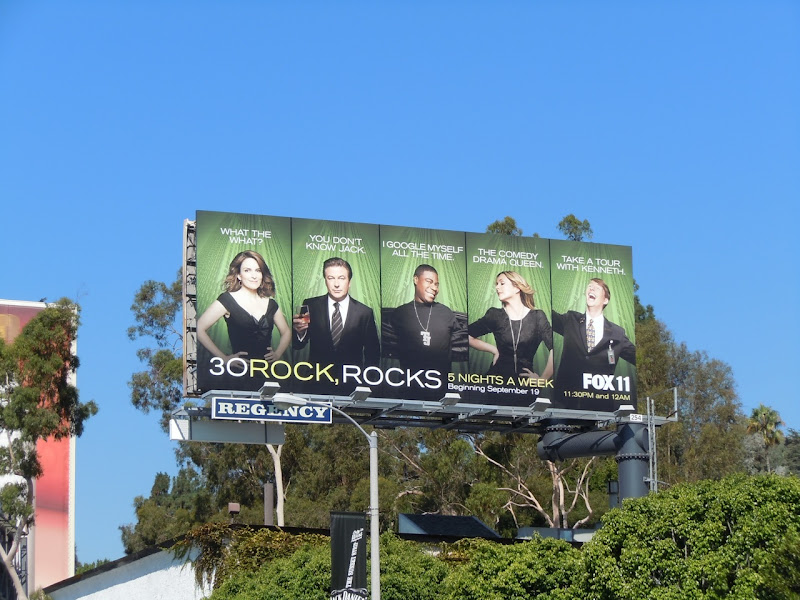 30 Rock TV bilboard