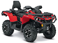 2013 Can-Am Outlander MAX XT 650 ATV pictures 2