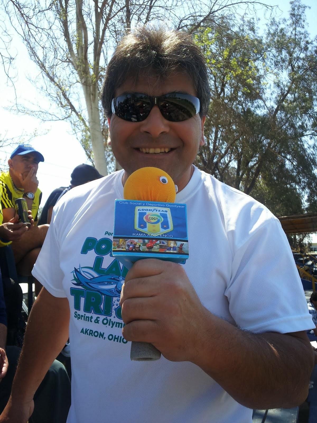 Juan Carlos Rojas mas conocido como Jonny Bravo, nuestro nuevo comentarista deportivo