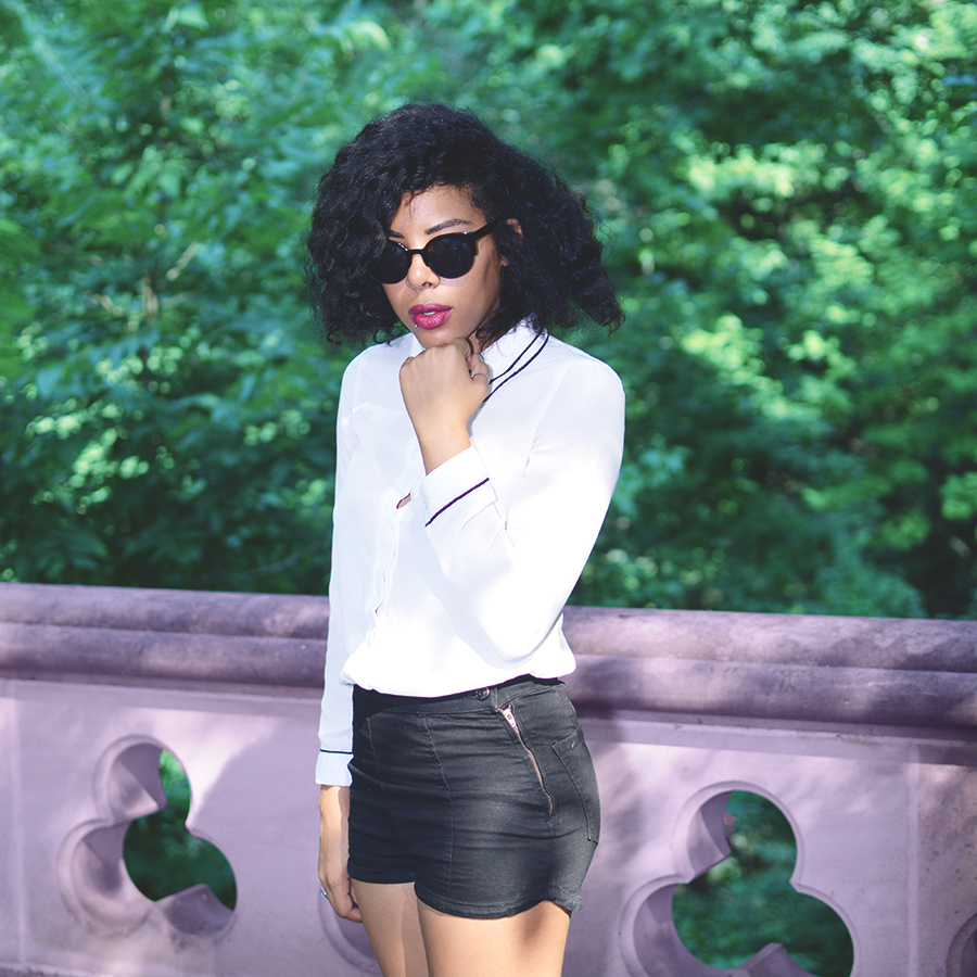 Blipster Fashion and Lifestyle blogger Anais Alexandre of Down to Stars in a transitional Summer Fall look