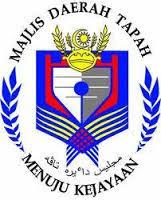 Jawatan Kerja Kosong Majlis Daerah Tapah (MDT) logo