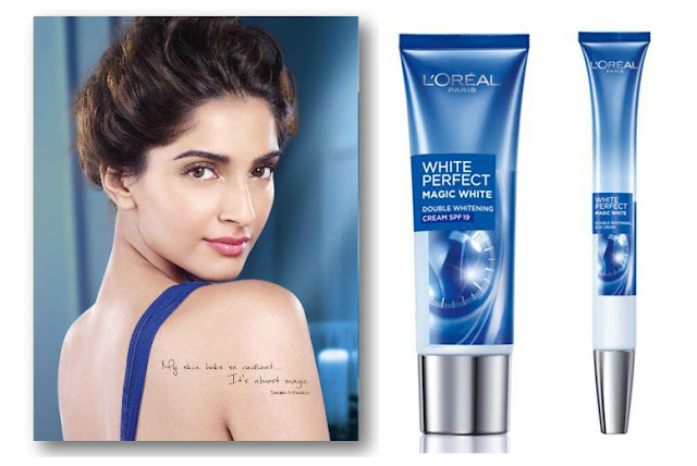 PR:L'oreal Paris White Perfect Magic White Day Cream & Eye Cream