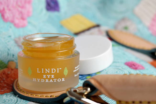 lindi eye hydrator, review, skincare for cancer patients
