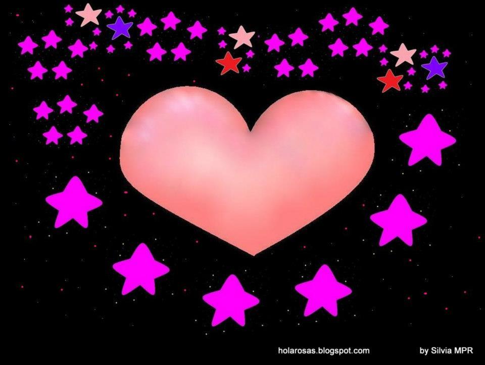 corazon con estrellas