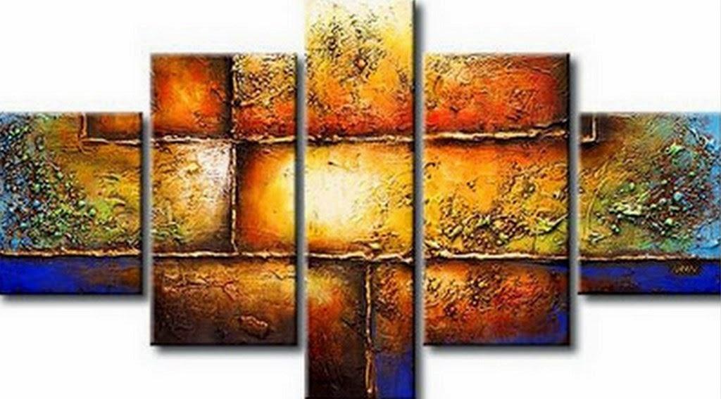 Cuadros modernos pinturas y dibujos cuadros f ciles de for Cuadros abstractos con marco