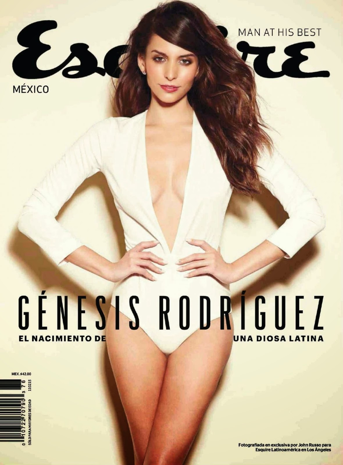 Genesis Rodriguez - Esquire Magazine, Mexico, January 2015