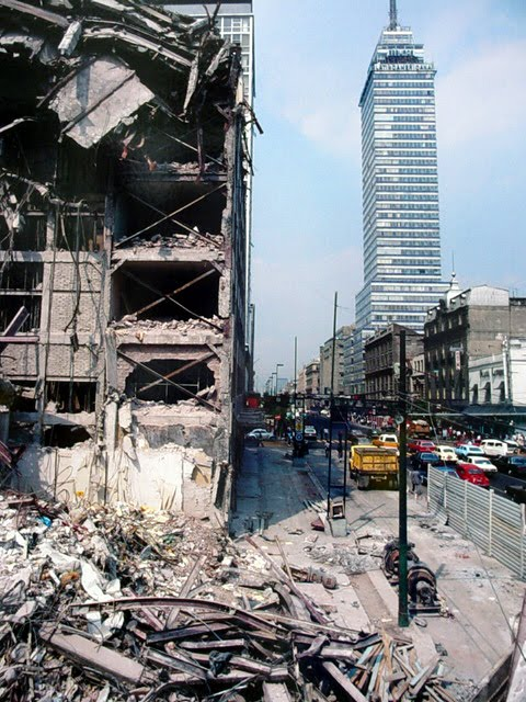 the 1985 mexico s earthquake The mexico city earthquake of 1985 by : arianna chavarria causes general earthquakes are caused by two tectonic plates scraping and grinding against each other.