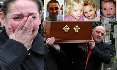 Mother's tearful tribute to her four children killed in house fire