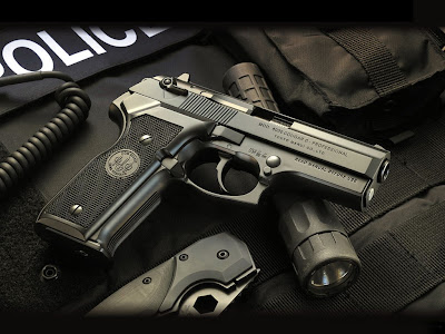 Police Weapon Guns Wallpapers