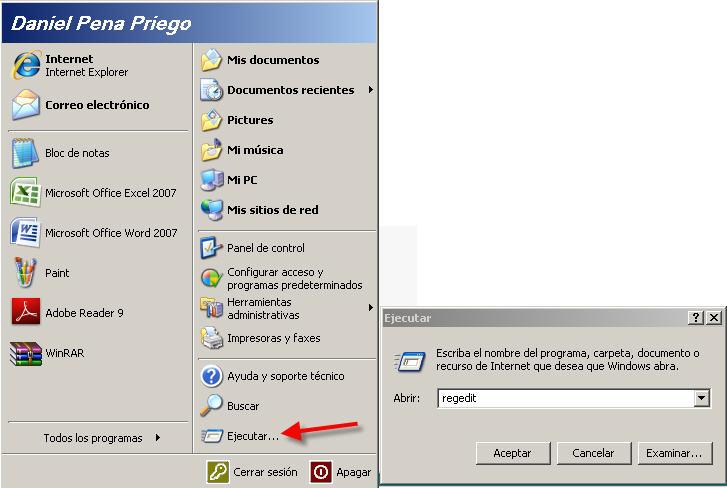 Dr obocaman hechos y berberechos habilitar remotamente - Conexion a escritorio remoto windows xp ...