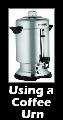 Coffee Makers & More: How to Use a Coffee Urn