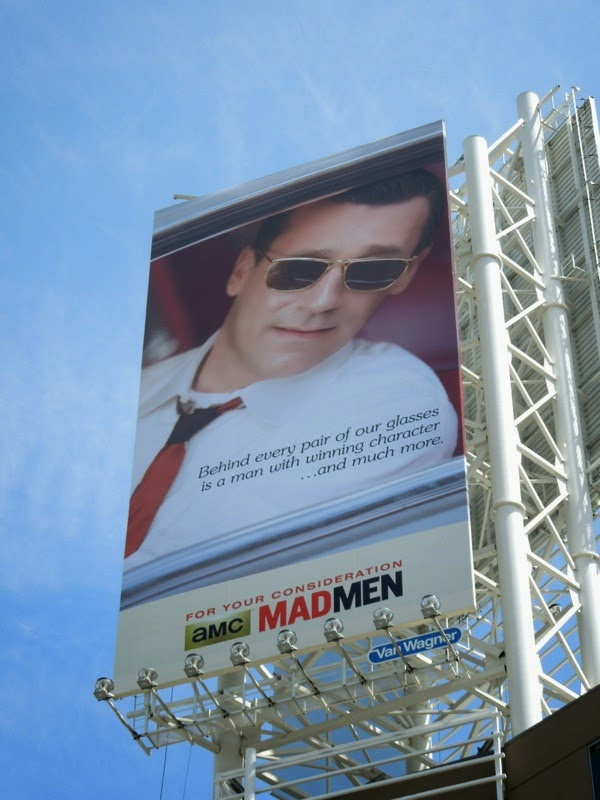 Mad Men Don Draper vintage Emmy 2014 billboard
