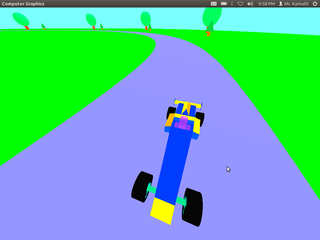 Opengl Code For Car Racing Game