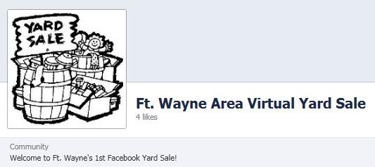 Frugal Fort Wayne: Facebook: Ft. Wayne Area Virtual Garage ...