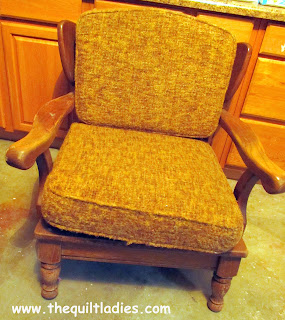 old fifties chair