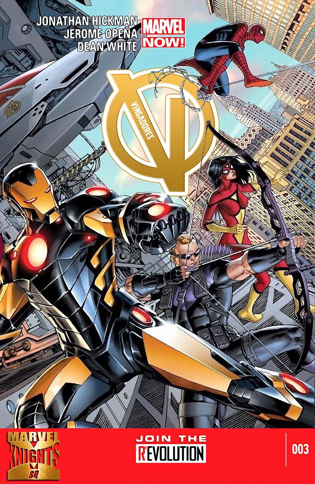 Nova Marvel! Vingadores v5 #3