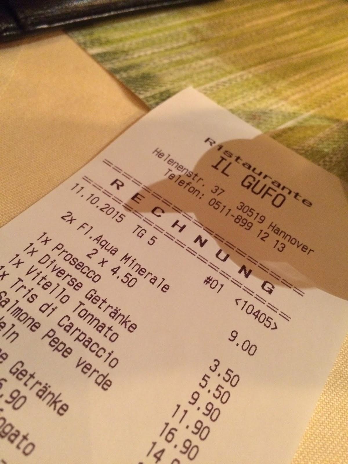 Angemessene Preise Und Ein Ausnehmend Freundlicher Service Treffen Im Il  Gufo Auf Kleine  Handwerkliche  Unzulänglichkeiten Der Küche.