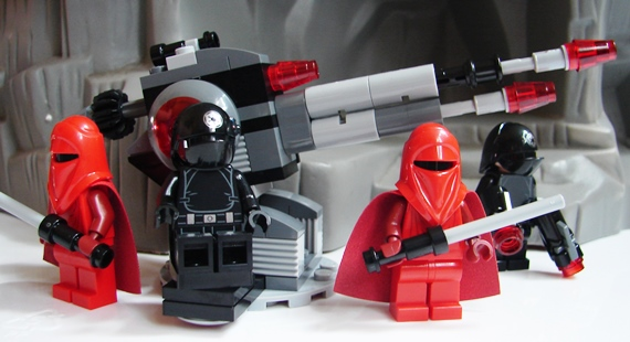 Noppen LEGO 4 x Stein Konverter 4733 neu hellgrau 1x1 mit 4 seitl
