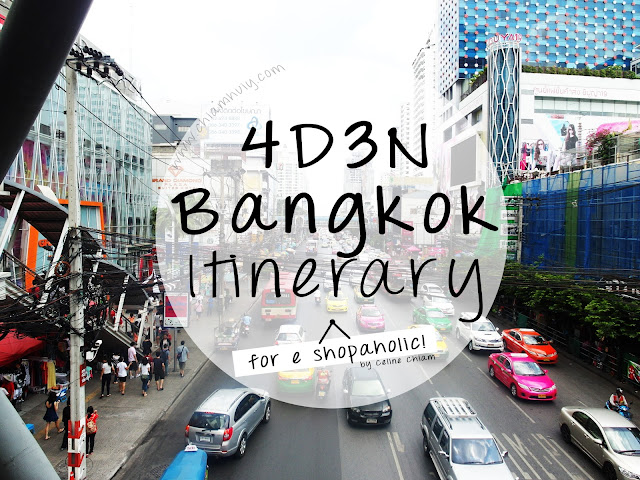 4d3n Bangkokland Itinerary For Shoppers