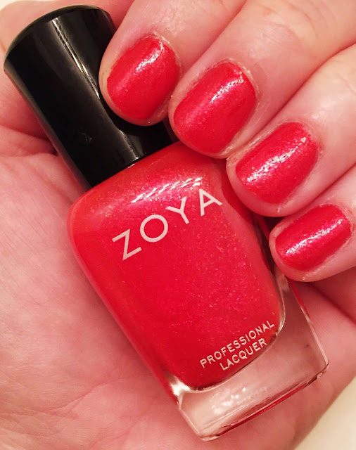Zoya, Zoya Aphrodite, Zoya Summer 2015 Paradise Sun nail polish collection, nails, nail polish, nail lacquer, nail varnish, manicure, #ManiMonday
