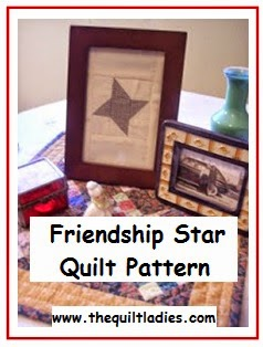 how to make a friendship star quilt block pattern
