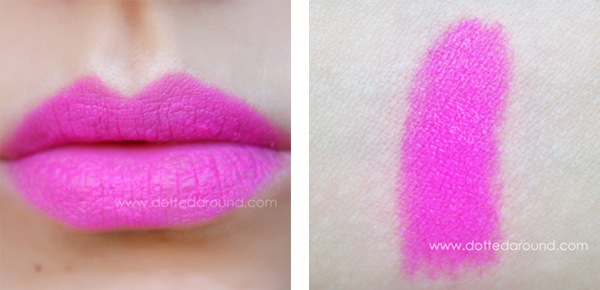 Mac candy yum yum lipstick swatches