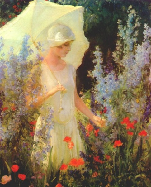 charles courtney curran flowers