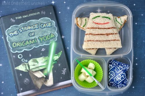 May The Fourth Be With You Origami Yoda Bentonbetterlunches