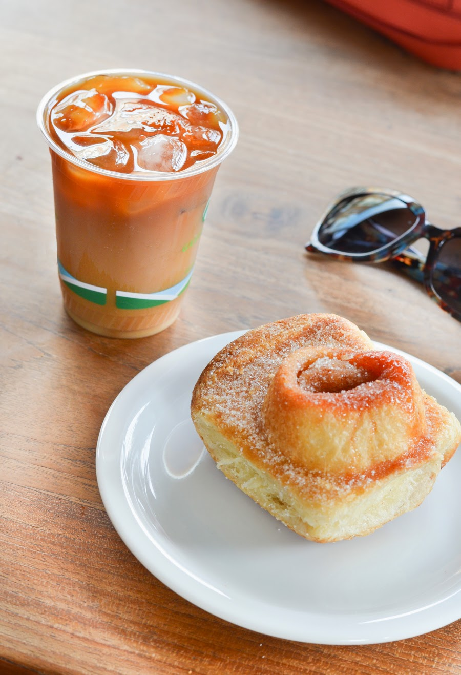 San Francisco Foodie | orange zest morning bun at tartine in the Mission | Luci's Morsels