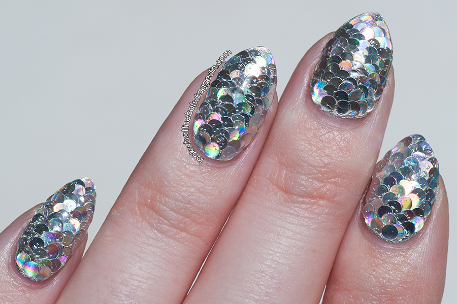 BornPrettyStore nail art glitter placement review