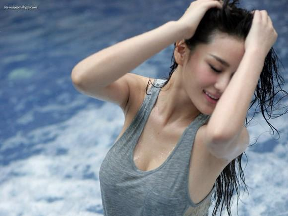 Girls Beauty Wallpaper Zhang Xinyu 24