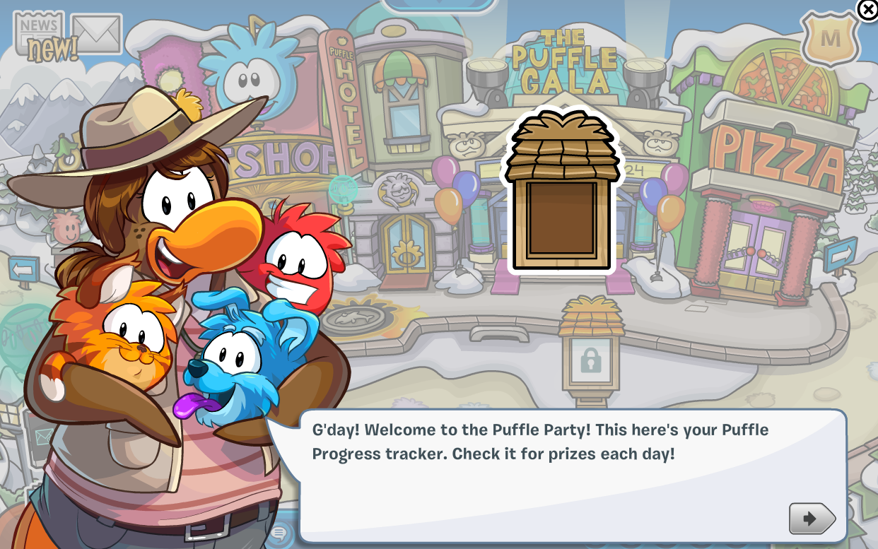 Club Penguin Puffle Party 2014
