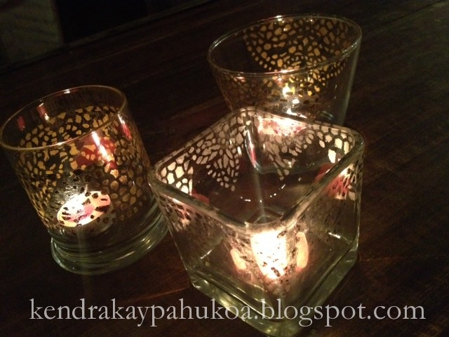 "alt=""DIY Gilded Votives"""
