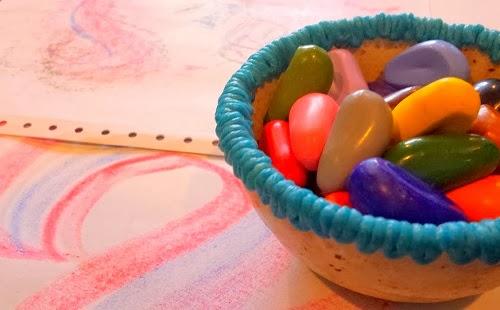 how to make crayon rocks