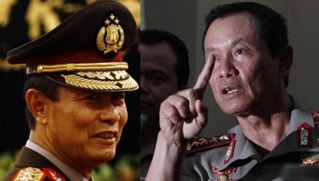 Calon Pengganti Kapolri Jenderal Sutarman