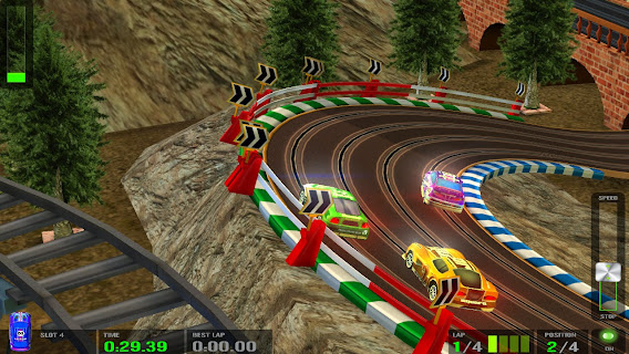 HTR+ Slot Car Simulation ScreenShot 02