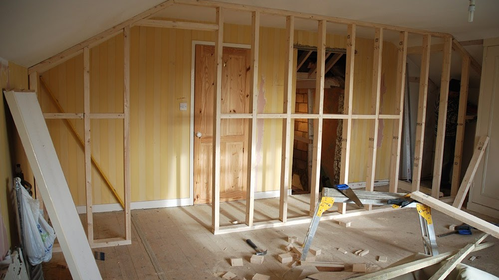 Infill Wall - How To Build A Partition Wall