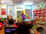 CUENTOS EN LA BIBLIOTECA 13/02/2014