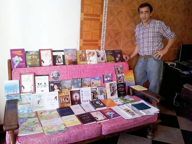 Gracias por los 58 libros y 10 CD (2013)