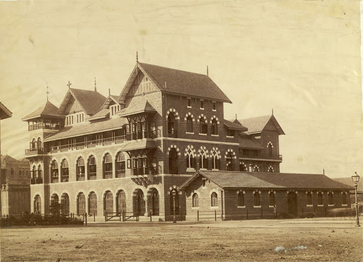 Cathedral High School in Bombay (Mumbai) - c1890's