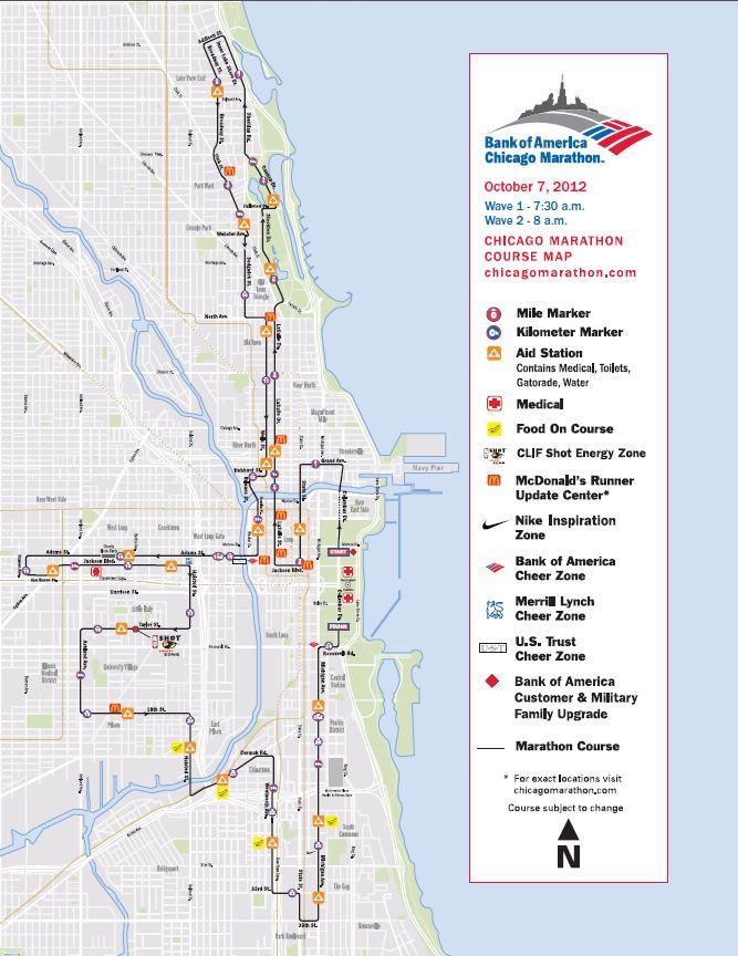 The Machine The Battle Of The Chicago Marathon